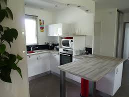 cuisine plan de travail gris plan de travail bois gris cuisine naturelle