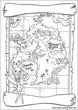 Peter Pan Coloring Pages On Book