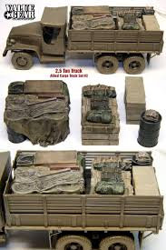 1 35 Allied Truck Load 3 Resin 2.5 Ton Tamiya Deuce And A Half Value ...