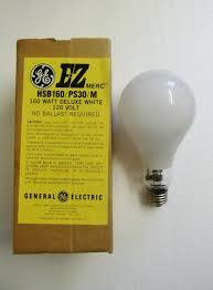 Self Ballasted Lamp Bulb by Lighting Gallery Net Self Ballasted Mercury Lamps Ge Hsb160 Ez