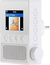 vr radio steckdosenradio steckdosen internetradio irs 300 mit wlan 6 1 cm display 6 watt steckdosen radio wlan