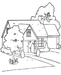 Brilliant Ideas Of Printable House Coloring Pages With Additional Summary