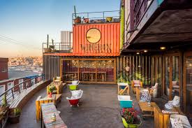 100 Sea Container Accommodation DesignForward Shipping Hotels Architectural Digest