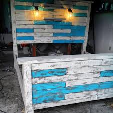 Diy King Size Pallet Bed Frame Pallet Bed Frames Bed Frames And