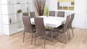 8 Seater Square Dining Room Table And Chairs 2018 Awesome Eight Images On