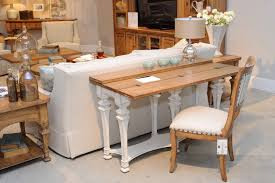Sofa Table Doubles As Desk Extra Dining
