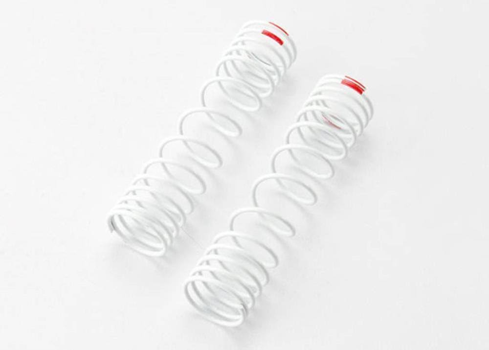 Traxxas Rear Springs - White, x2