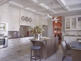 boy oh boy i like this kitchen beadboard tray ceiling with