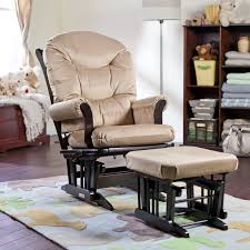 100 Reclining Rocking Chair Nursery Ba Glider S White Fabric With