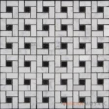 mosaic tiles china supplier milan mosaic carrara white polished