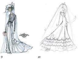 Rachel Roy And Reem Acra Sketch Kate Middletons Wedding Dress