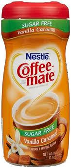 Coffee Mate Sugar Free Powdered Creamer