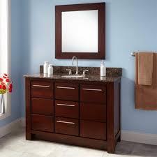 Narrow Depth Bathroom Vanity Canada by Bathroom Affordable Narrow Depth Teak Bathroom Vanity Cabinet And