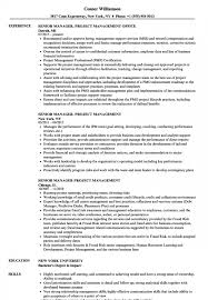 Medium To Large Size Of Business Acumen Project Management Senior Manager Resume Samples Velvet Jobs S