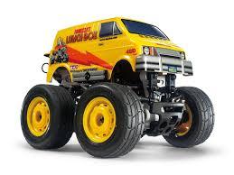100 Monster Truck Lunch Box Tamiya 124 Star Unit Mini SW01 57409 RC Kit