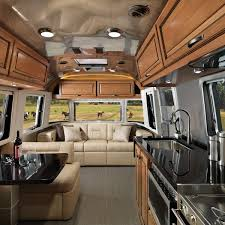 100 Inside An Airstream Trailer Features Classic Travel S