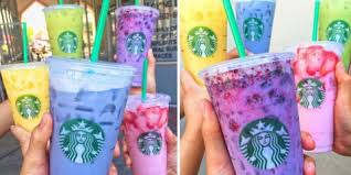 Heres How To Accurately Order Starbucks Rainbow Drinks