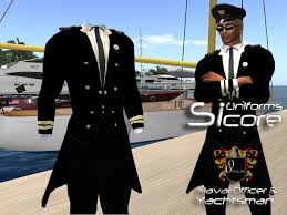 Second Life Marketplace Uniform Navy ficer and Yachtsmen