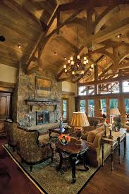 Simple Log Home Great Rooms Ideas Photo by My House Assembly Required Cozy Edition 33 Photos