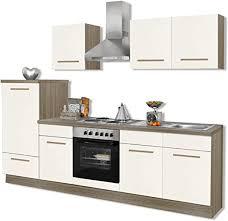 roller küchenblock wiebke magnolie inklusive e geräte