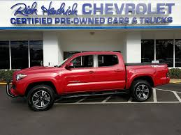 100 Certified Pre Owned Trucks 2016 Toyota Tacoma TRD Off Road Pickup For Sale 190356A