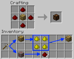 Image Titled Make A Redstone Lamp In Minecraft Recipe