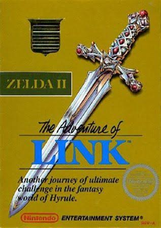 Zelda II: The Adventure of Link - Nintendo NES
