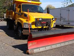 2007 GMC 6500 Dump Truck Plow & Tailgate Spreader Online Government ...