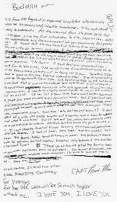 Cobain s suicide note