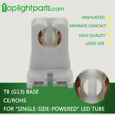 Non Shunted T8 Lamp Holder by Wholesale 100pcs T8 Non Shunted Lamp Holder Tube Light Socket