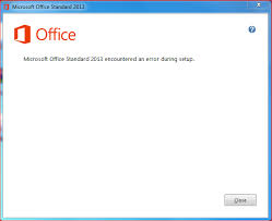 Can not install MS fice 2013 Standard Edition Microsoft munity