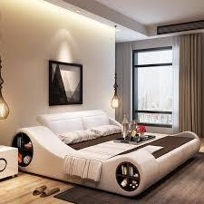 180cmx20 0cm 2020 moderne designer weiß leder weiche doppel schlafzimmer möbel mit lagerung