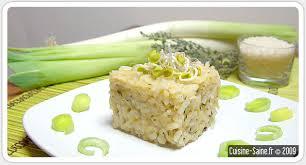 recette de cuisine saine recette bio risotto aux poireaux et thym cuisine saine