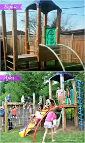 Backyard Playground Before And After | Your Best DIY Projects ... Building Our Backyard Castle With Wood Naturally Emily Henderson Fniture Playsets Cedar Swing Sets On Ipirations Skyfort Ii 3d Promo Youtube Kids Playhouse Backyard Shed Clubhouse Studio Playhouses Woodridge Wooden Set Wall Ladders Side Porch And Triton Diy Fortswingset Plans Jacks 34 Free For Your Kids Fun Play Area Easy How To Build A The Yard Fort From Give The A Playset This Holiday Sears Best 25 Fort Ideas On Pinterest Diy Tree House