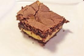brownies mit frischkäsefüllung