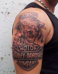 Unique Harley Davidson Tattoo Ideas And Inspirations 14
