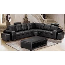 canapé sofa italien canapé d angle en cuir italien 7 places evita achat vente