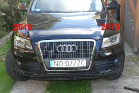 audi q5 swapping 2013 headlights to a 2009 2012 almost there