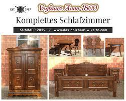 schlafzimmer nr 250 voglauer anno 1800 braun mit bauernschrank