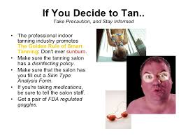 indoor tanning research project