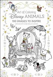 Cover For New Disney Animals Coloring Book Revealed