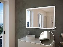spiegel mit direkter beleuchtung terezia