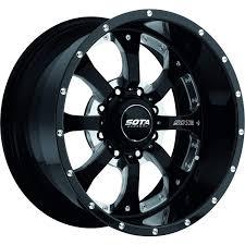 100 17 Truck Wheels Amazoncom SOTA Offroad 561DM Novakane Death Metal Black Wheel With