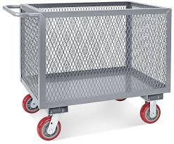 Uline Metal Shelving Steel Box Truck In Stock Of