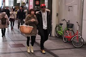 On The Streets OfOsaka Japan