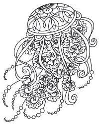 Pin Drawn Jellies Coloring Book 8