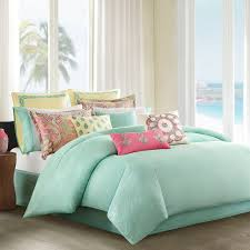 Mint Green Bedroom Ideas by Bedding Set Mint Green Comforter With Coral Comforter Set