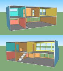 getting way ahead of myself designing a modern dollhouse