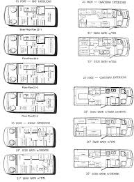 Interior Layouts For GMC 23 Foot