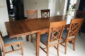 esszimmer komplett tisch 6 stühle echtholz massivholz pinie